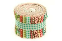 2.5 inch Maywood Pinwheel Jelly Roll 100% cotton fabric quilting 21 strips