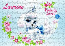 puzzle 252 pièces animal mignon 38 x 26cm personnalisable prénom réf 85