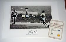 Soccer Legend Pele Signed Autographed 16x20 Bicycle Kick Photo A1 COA
