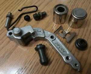 honda ntv600 brake caliper parts rattle plate speedo cable guide revere NTV 1989