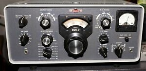 Collins KWM-2 HF Ham Transceiver with Waters Q Multiplier - Good, Working