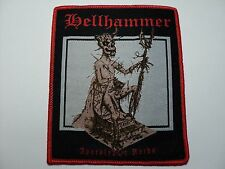 HELLHAMMER WOVEN PATCH