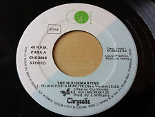 """THE HOUSEMARTINS """"THINK FOR A MINUTE (NEW VERSION)"""" RARE SPANISH PROMO 7"""" VINYL"""
