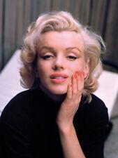 La vida del tiempo-Marilyn Monroe-color-Lienzo Enmarcado Listo