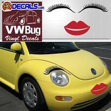 car eyelashes round headlights, Car eyelashes, car light eyelash sticker decal