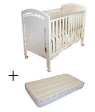 Cuna para bebé, modelo osito + Colchón Viscoelástica BaByBed