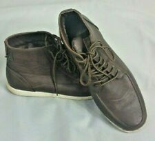 SOVIET Mens Casual Brown Shoes Boots UK 10 Faux Leather