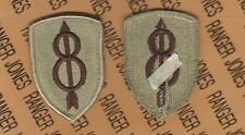 US Army 79th Infantry Division desert DCU uniform patch m//e
