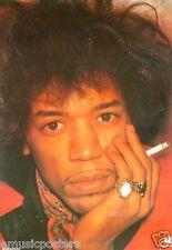 "Jimi Hendrix ""Holding Cigarette"" Dutch Commercial Poster -60's Guitar Rock Music"