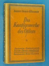 Das Kunstgewerbe des Ostens : Aegypten - Vorderasien - Islam ..Cohn-Wiener 1922
