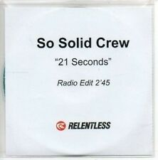 (AL572) So Solid Crew, 21 Seconds - DJ CD
