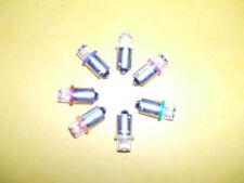 5 ampoules LED #44 neuves 7 couleur au choix angle 170° neuves