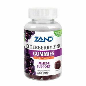 ZAND Elderberry Zinc Gummies - 60 Count