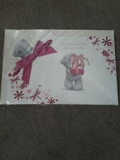 L@@K NEW TATTY TEDDY BEAR  'Mum From Both Of Us' Me To You Mother's Day Card