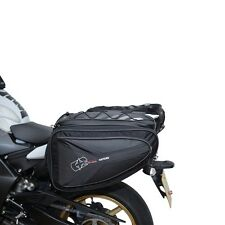 Oxford Motorbike Motorcycle P60R 60 Litre Panniers Expandable Luggage Black