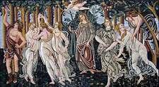 "120"" Handmade Sandro Botticelli "" La Primavera"" - Mosaic Reproduction Art Stone"