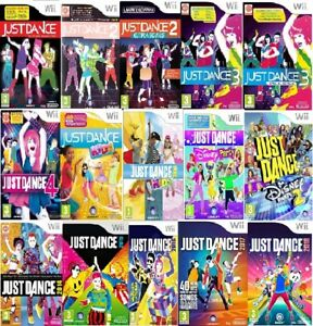 Wii Just Dance Wii Nintendo Assorted Game Excellent - Fast Delivery