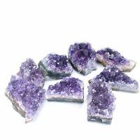 Natural Raw Amethyst Cluster Celestite Crystal Quartz Geode Specimen Home Decor