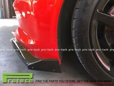 2014+ Corvette C7 ST Stingray Carbon Fiber Side Skirts & Front Lip (w/ Winglets)