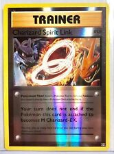 POKEMON TRAINER CHARIZARD SPIRIT LINK 75/108 UNCOMMON REVERSE HOLO  EVOLUTIONS