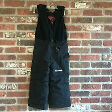 Kids Boulder Gear Black  Bib Ski Pants Size 4