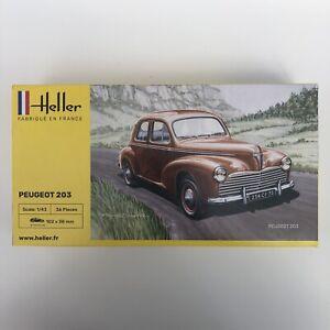 Heller 80160 Peugeot 203 - 1:43 Scale - 36 Pieces