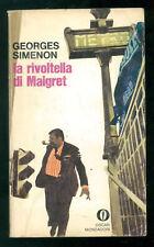 SIMENON GEORGES LA RIVOLTELLA DI MAIGRET OSCAR MONDADORI 272 1970 FERENC PINTER