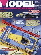 Zeitschrift Modell Fahrzeug 1 2002 BMW 745i Lexus SC 430 Metz DLK 30 Sauber C9