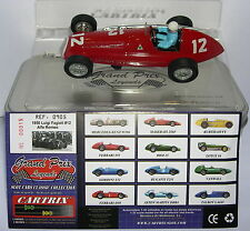 CARTRIX 0905  ALFA ROMEO (ALFETTA) 1950   #12  LUIGI FAGIOLI  LTED.ED.  MB