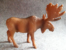 SCHLEICH 14310, Bull Moose, Wild Life Series, c 2002 Retired