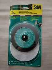 3M 5-Inch Disc Sander Kit Adhesive Backed with Assorted Sanding Paper