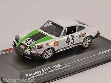 1968 Porsche 911T le mans, échelle 1/43, modèle altaya