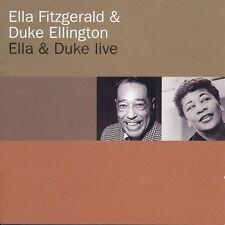 Ella Fitzgerald & Duke Ellington Ella & Duke Live (satin Doll) 1996 CD