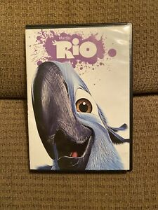Rio DVD 2017 Animated Adventure Family Friendly Kids **Movie With Case**