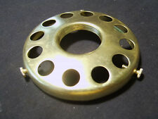Solid brass 3&1/4 inch fitter lamp UNO style Screw on your Socket shade holder