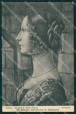 Firenze Città Chiesa Santa Maria Novella Ghirlandaio cartolina XB5013
