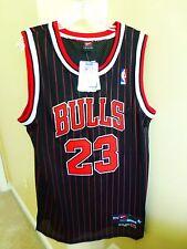 NWT 100% Authentic Michael Jordan Bulls Pinstripe Nike 8403 NBA Jersey Size 52