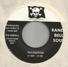 "Rande Bell Soup ""Alligator"" Pirata 1970 Kennelmus Pesado Garaje Psych 17.8cm 45M"