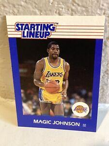 1988 Starting Lineup Magic Johnson Card