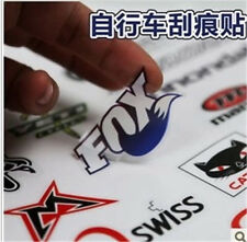 New Cool DIY MTB Bike Patches Personalised Name Decals Bicycle Cycling Stickers