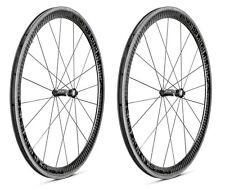 XeNTiS XBL 4.2 20/24 spokes 42mm Tubular Carbon Bicycle Wheel Set Black