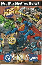 DC Versus Marvel Preview NM Bonus Batman & Captain America Cards