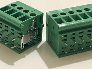 TAICOM 1 - 12 WAY BIG STACKABLE PCB TERMINAL BLOCK CONNECTOR 5mm PITCH 20A blb64