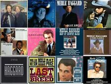 12 x Merle Haggard Willie Nelson Country Blues CD Albums Last Of The Breed RARE