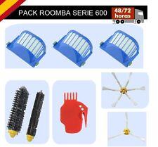 Recambios Roomba  Serie 600, 620, 630, 650, 660. Accesorios y Repuestos Roomba