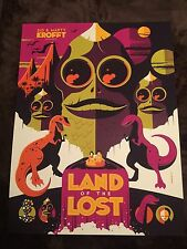 Tom Whalen Sid & Marty Krofft Land Of The Lost Art Print Poster Mondo Variant!!!