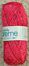Wendy Supreme Luxury Cotton DK Shade 1920 Berry Shine 100g Ball