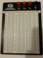 Global Specialties ProtoBoard Electronic Breadboard Made in USA Quality