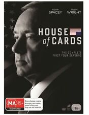 House Of Cards Complete First Four Seasons 1 2 3 4 DVD NEW Region 4 Spacey