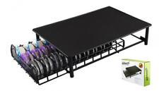 40 Pieds Empilables antid/érapants maille Tiroir Rack Noir Distributeur pour capsules Nespresso Stockage de capsules de caf/és